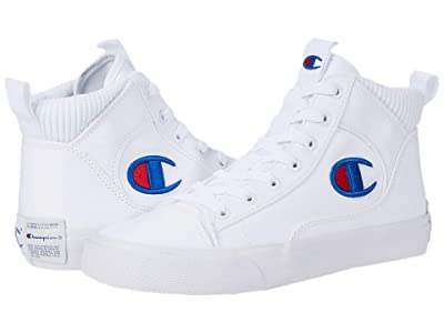 Champion Kids Fringe Hi (Big Kid) (White) Kid