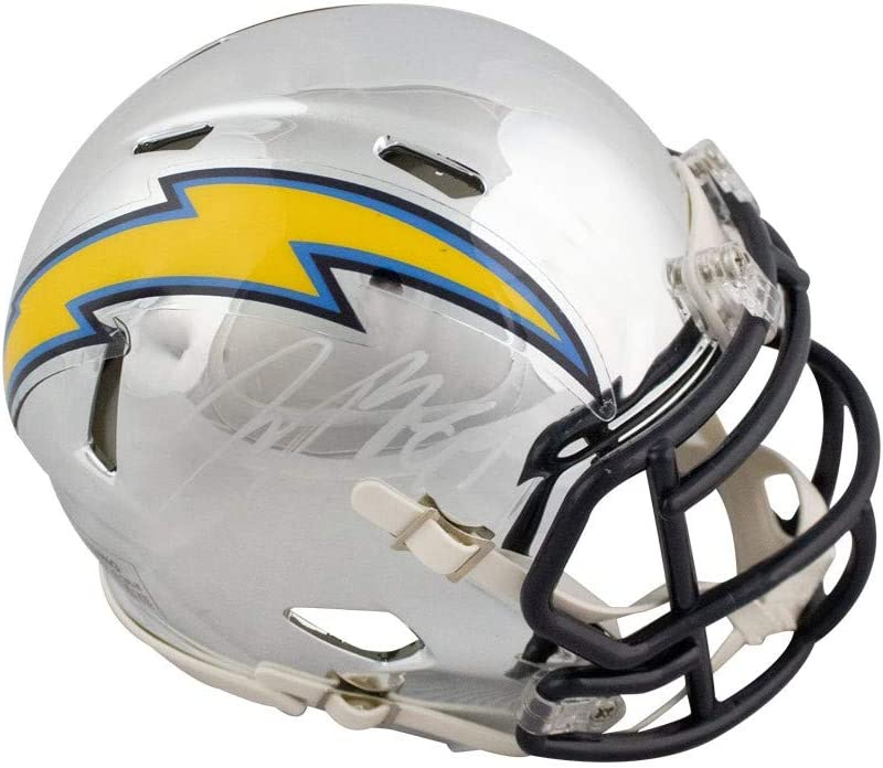 Selling and selling Joey Spasm price Bosa Autographed Los Angeles Chargers Mini Football Chrome