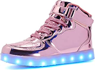 Small garlic LED Chaussures Unisexe Homme Femme Lumineux Sports Baskets 7 Couleur USB Charge LED Chaussures Lumiere Cligno...