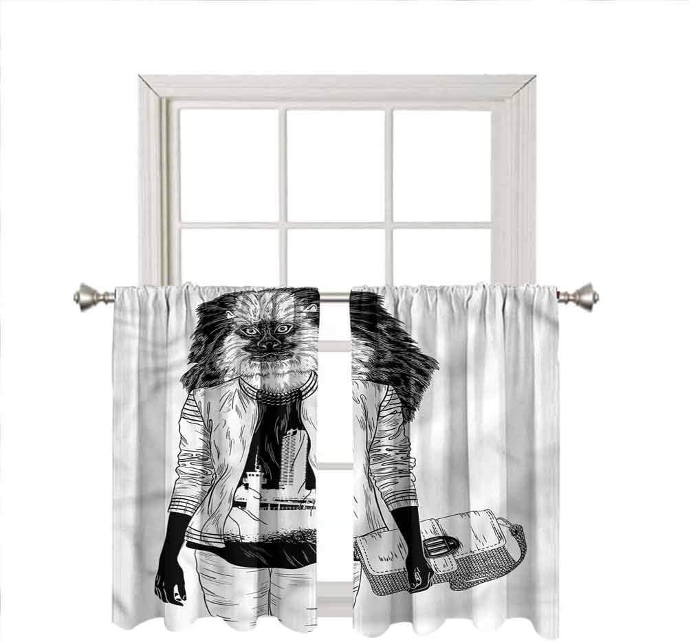 Fashion Window Valance Curtains Cheap Branded goods SALE Start Stylish Monkey Insu Cool Thermal