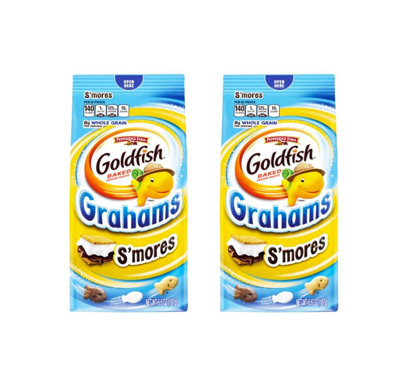 Pepperidge Farm Goldfish Baked Whole Snacks Large discharge sale 6.6oz Regular discount Grain Graham