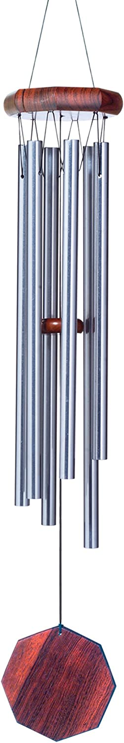 JW STANNARD Hand Tuned Musical Wind Chimes Star Spangled Banner American Flag