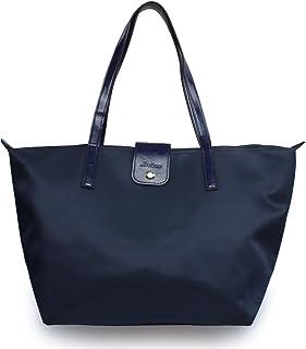 Women's Waterproof Tote Bag Toiijoy Nylon Foldable Travel Shoulder Beach Bags