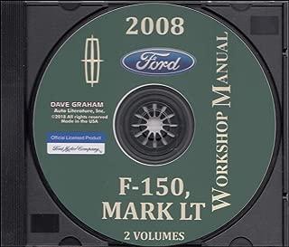 2008 Ford F-150 & Lincoln Mark LT Wiring Diagram Manual Original