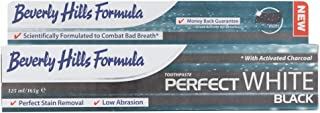 Beverly Hills Formula Perfect White Black Toothpaste, 125 ml