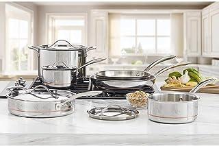 Kirkland Signature Stainless Steel 10 Piece Cookware Set
