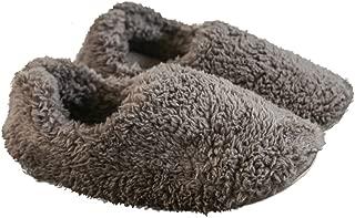 [静石盧] スリッパ あったか もこもこ ボアスリッパ 冬 室内 北欧 メンズ レディース 綿 柔らかい 洗える 滑り止め 静音