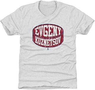 500 LEVEL Evgeny Kuznetsov Washington Hockey Kids Shirt - Evgeny Kuznetsov Puck