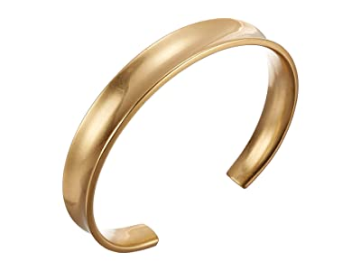 Madewell Studio Cuff Bracelet (Vintage Gold) Bracelet