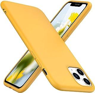 TesRank Funda iPhone 11 Pro, Carcasa TPU Suave Fundas para iPhone 11 Pro Flexible [Resistente a arañazos] [Ultrafina Ligero]-Amarillo