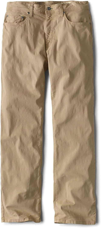 Orvis Men's 5-Pocket Stretch Twill Pants