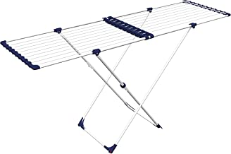 Gimi Stendissimo Indoor Drying Rack – Steel – White and Blue