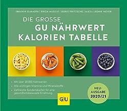 Nährwert-Kalorien-Tabelle, Die große GU: Neuausgabe 2020/2