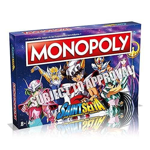 Winning Moves Juego de Mesa Monopoly Saint Seiya