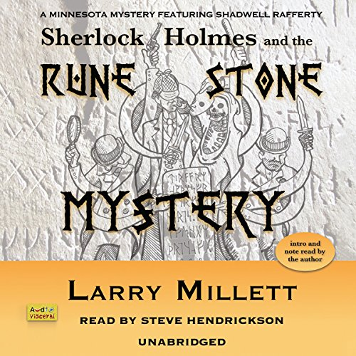 Sherlock Holmes and the Rune Stone Mystery audiobook cover art