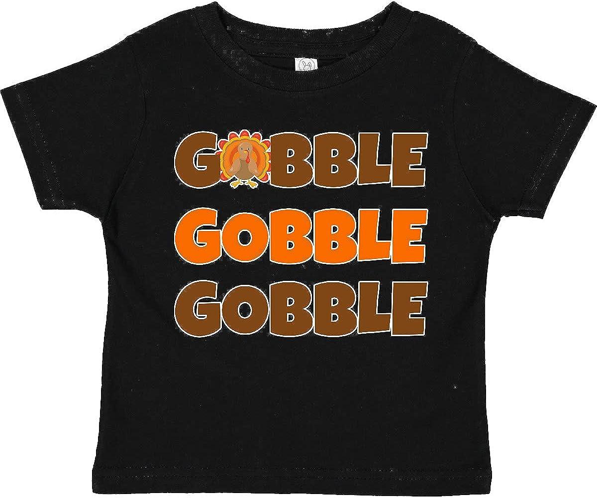 inktastic Gobble Gobble Gobble Toddler T-Shirt