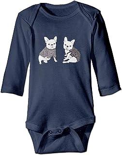 AOOEDM Springbok Cable Pagliaccetto Baby Boys Girls Tuta Tuta Comoda T Shirt per Neonato Grigio