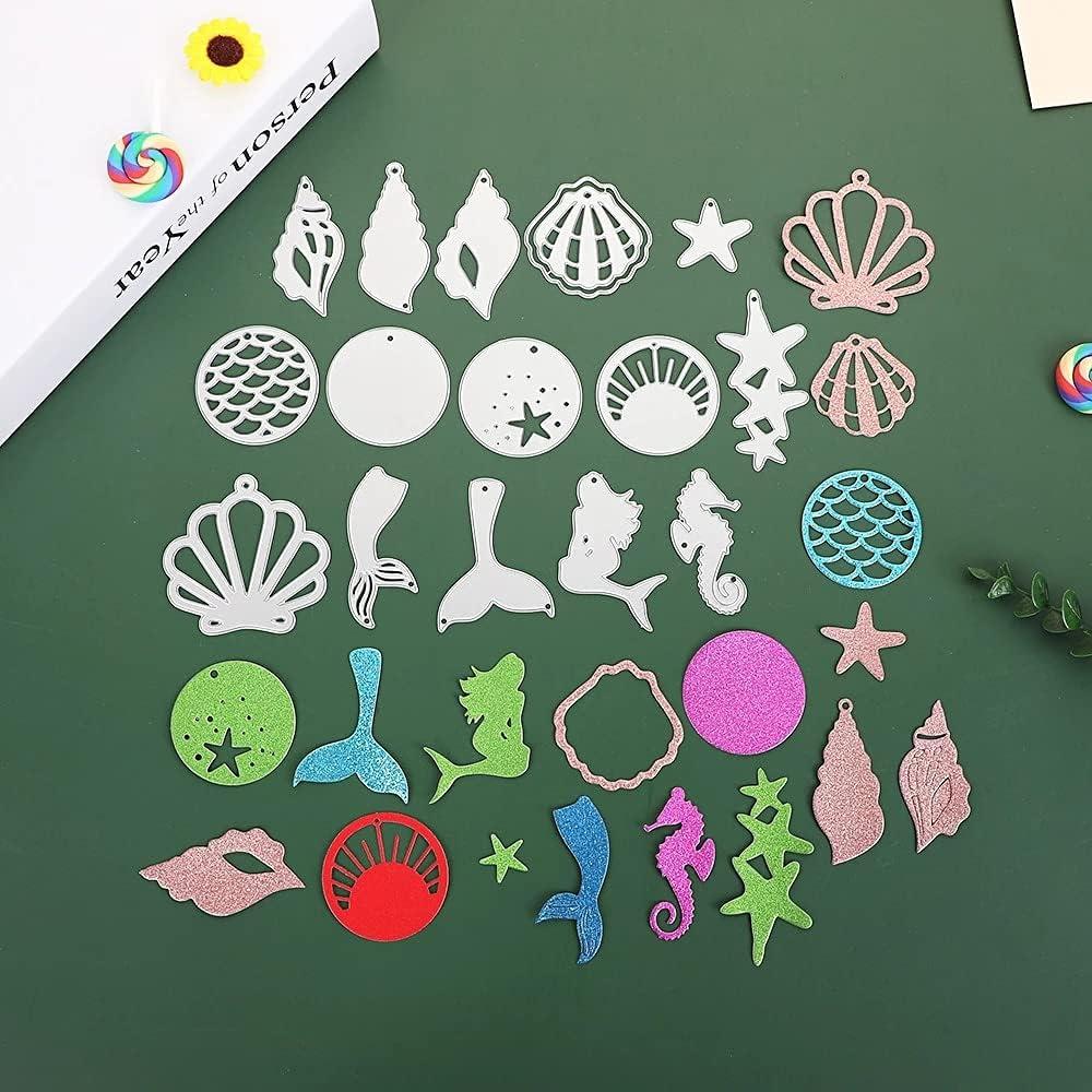 15Pcs Set shopping Excellent Ocean Animals Metal Paper Dies DI Cutting for Stencils