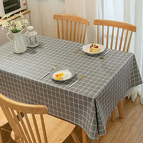 sans_marque Paño de mesa, utilizado para la cubierta de la tabla, paño de tabla rectangular impermeable, paño de mesa, paño de mesa de la cocina 110* 160cm