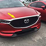Beautost For Mazda 2017 2018 2019 2020 2021 CX-5 CX5 Chrome Front Hood Grill Cover Bonnet Trim
