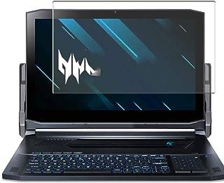 Vaxson Anti-blått ljus härdat glas skärmskydd, kompatibel med Acer Predator Triton 900 17.3 synligt område, 9H filmskydd s...