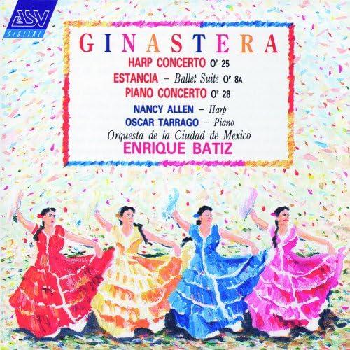 Nancy Allen, Oscar Tarrago, Orquesta Filarmónica de la Ciudad de México & Enrique Batiz