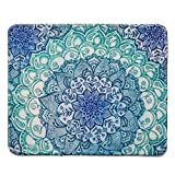 Rectangle Mousepad Creative Painting Customized Mandala Pattern Rectangle Mouse Pad