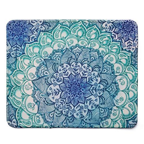 Rectangle Mousepad Creative Painting Customized Mandala Pattern Rectangle Mouse Pad