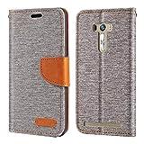Asus ZenFone Selfie ZD551KL Case, Oxford Leather Wallet