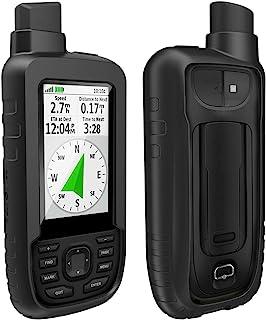 TUSITA Hoesje Compatibel met Garmin GPSMAP 66s 66st 66sr - Siliconen Bescherming Hoes Beschermhoes Huid - Accessoires voor...