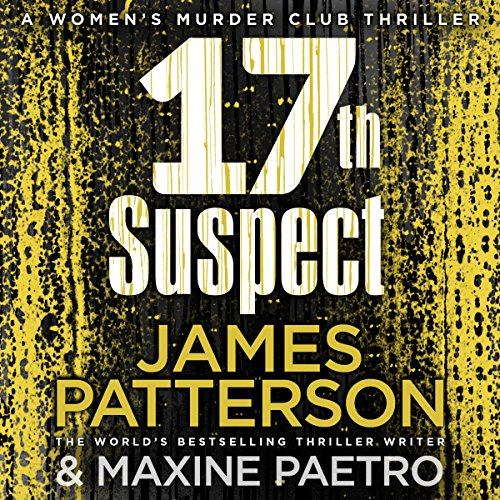 17th Suspect audiobook cover art