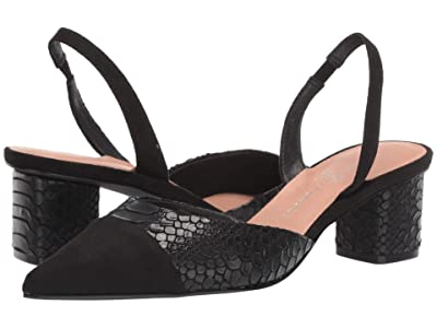 Chinese Laundry Cabella (Black Snake/Suede) Women