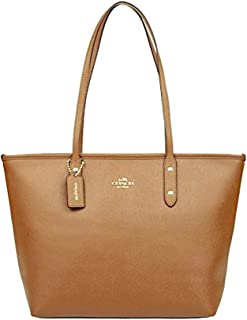 Best coach city zip tote crossgrain leather handbag Reviews