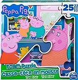 Peppa Pig 6056256 - Puzzle Personalizado de Espuma de 25 Piezas, a Partir de 4 años
