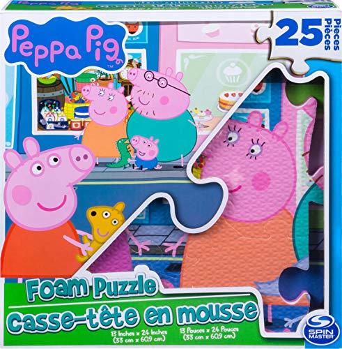 Peppa Pig 6056256   Puzzle Personalizado de Espuma de 25 Piezas, a Partir de 4 años