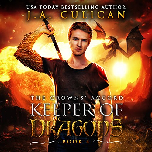 The Crowns' Accord     Keeper of Dragons, Book 4              By:                                                                                                                                 J.A. Culican                               Narrated by:                                                                                                                                 Zachary Hetrick                      Length: 5 hrs and 16 mins     6 ratings     Overall 4.8
