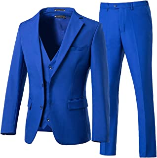 Best mens royal blue 3 piece suit Reviews
