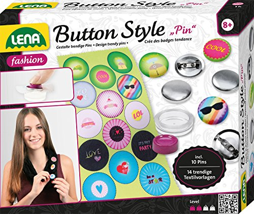Lena 42566 - Button style Pin, Spiel
