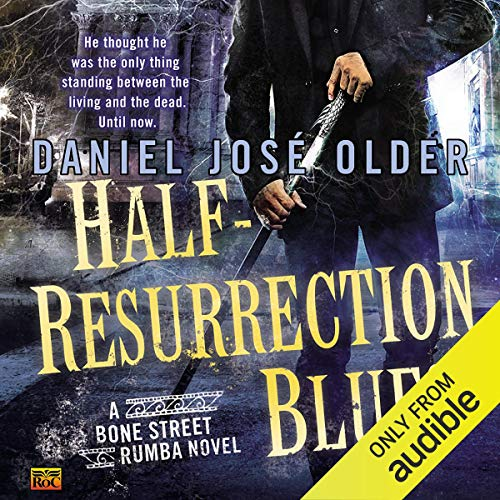 Half-Resurrection Blues audiobook cover art