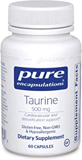 Pure Encapsulations Taurine 500 mg | Amino Acid Supplement for Liver, Eye Health, Antioxidants, Heart, Brain, and Muscles*...