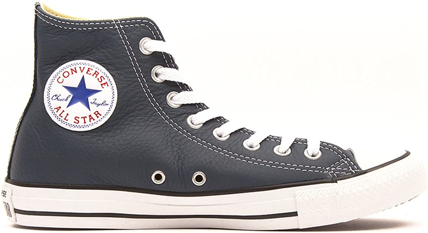 Converse Chuck Taylor All Star Leather Hi shoes, 5 D(M) US Mens   7 B(M) US Womens, Moonlight
