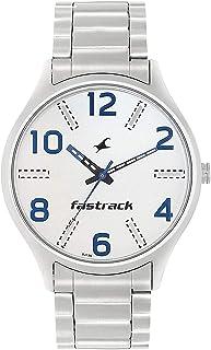 ساعة فاست تراك للرجال انالوج بعقارب ستانلس ستيل - 3184SM02