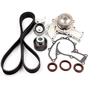 Amazon Com Engine Timing Part Belt Set Timing Belt Kits Scitoo Fit Isuzu Trooper Ls Rs 3 2l V6 Dohc 1992 1995replacement Timing Tools With Water Pump Automotive