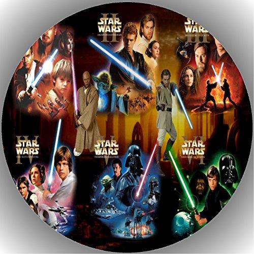 Fondant Tortenaufleger Tortenbild Geburtstag Star Wars T29