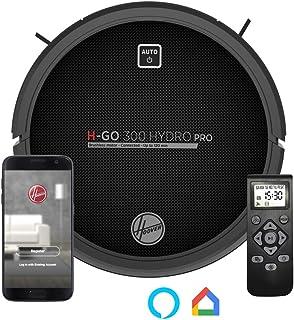 Hoover HGO330HC Hydro Pro - Robot Aspirador, Aspira, Barre, Friega y Pasa la Mopa, 2 Depósitos, Wi-Fi, Conexión Alexa, Aut...