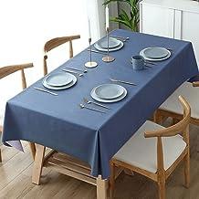 Kerst Rechthoekig Tafelkleed - Modieuze Woninginrichting Blauw Rechthoekig Tafelkleed Kerstfeest Decoratie Restaurant Salo...