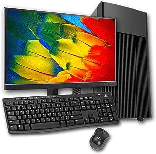 """PC Completo Intel Core i3, 8GB Ram, GT 710 2GB, HD 1TB + SSD 120GB, Monitor 18,5"""", Adaptador Wi-Fi, Teclado e Mouse"""