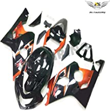 NT FAIRING Complete Orange Black Injection Mold Fairings Fit for Suzuki 2004 2005 GSXR 600 750 K4 04 05 GSX-R600 Aftermarket Painted Kit ABS Plastic Motorcycle Bodywork