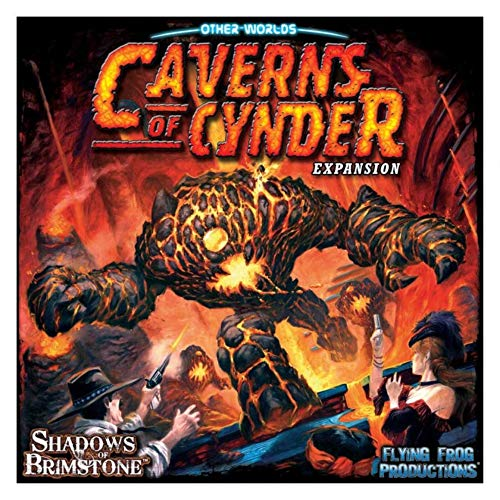 Caverns Of Cynder Tile Game Shadows Of Brimstone Expansion Flying Frog Productions