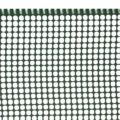 VERDELOOK Rete 5X5 Cm Mini-Quadra Maglia Piccola, 1X5 M, Verde,Supporto Balcone